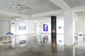 Turning of Space, installation view