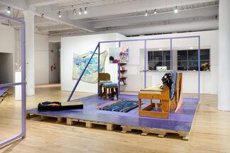 Johanna Jackson & Chris Johanson: House of Escaping Forms, installation view