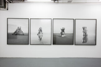 Noemie Goudal - In Search Of The First Line, installation view