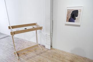 Hippie Priest (curated by Nikita Vishnevskiy), installation view