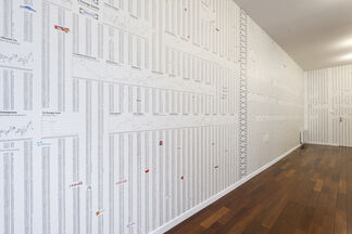 The Fountain Archives by Saâdane Afif / JaZoN Ex. by Jazon Frings, installation view