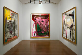 Dale Frank, Nobody's Sweetie, installation view
