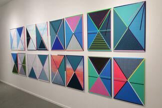 "Kelley Johnson, ""Slow Hum"", installation view"