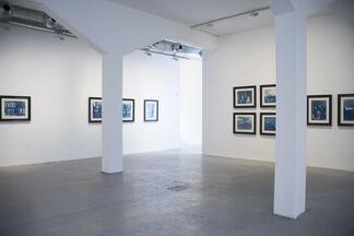 McDERMOTT & McGOUGH. Cyan Light and Abstract, installation view