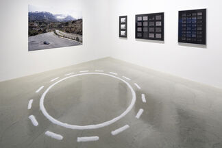 Failing to Distinguish Between a Tractor Trailer and the Bright White Sky, installation view