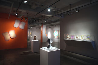 Surveying Judy Chicago: 1970-2010, installation view
