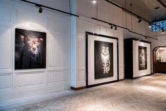 Vincent Lagrange 'The Human Animals', installation view