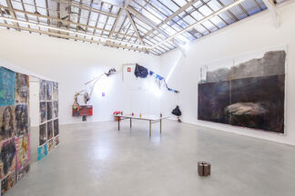 """Matthieu Ronsse - """"L'Amour dans les cordes, dans un cadre plus ou moins érotique"""", installation view"""