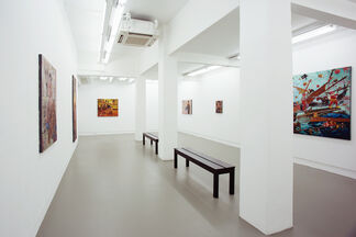 Ronson Culibrina – Blood Compact, installation view