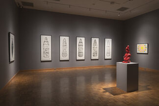 Making Everything Out of Anything: Prints, Drawings, and Sculptures by Willie Cole, installation view