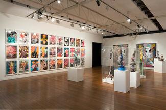 Del Kathryn Barton, angel dribble, installation view
