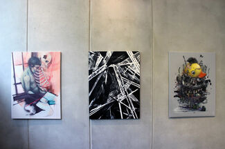 The Wall by Da Mental Vaporz, installation view