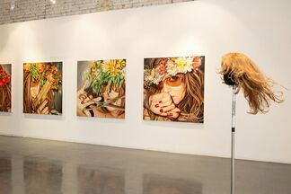 Masha Shubina. Flower of Power, installation view