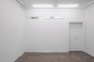 Alex Lebus: Breaking the Waves and Drawing a Line, installation view