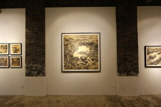 Storyboards, installation view
