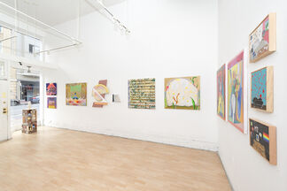 Reading Between The Lines - curated by Anna Valdez, installation view