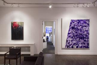 Re-Irascibles: Theodoros Stamos - John Zinsser, installation view