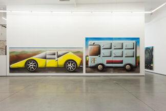 "Andreas Schulze - ""Traffic Jam"", installation view"