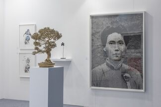 Human Reproduction at Art Central 2015, installation view