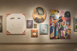 '100 Painters of Tomorrow' Book Launch @ Christie's, installation view