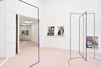 Continuum (now-point with horizon of the past), installation view