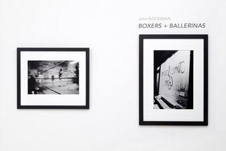 Ballerina + Boxers, installation view