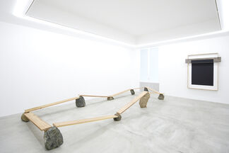 "KISHIO SUGA""Divided Orientation of Space"", installation view"