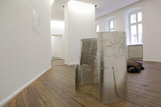 Sculpture in four parts, installation view