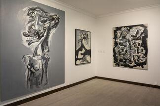 Saura. Brigitte Bardot et autres dames, installation view