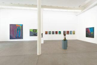 Walter Libuda - Aus der Tasche, installation view