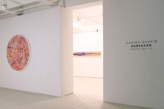 Hadieh Shafie: Surfaced, installation view