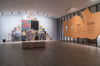 Doublethink Double vision, installation view