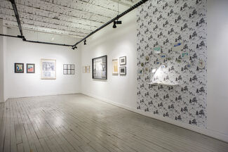 The Spirit of Paper, installation view