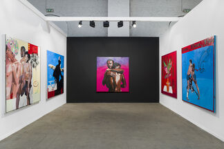 Tyburn Gallery at Art Brussels 2019, installation view