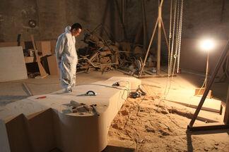Wang Jianwei: Time Temple, installation view