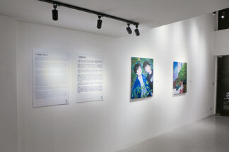 "Tatsuhito Horikoshi - ""Happy city"", installation view"