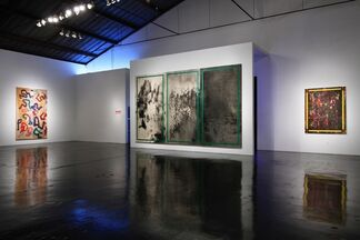 Ed Moses: Chance And Circumstance, installation view