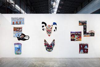 Steve Turner at Enter Art Fair 2020, installation view
