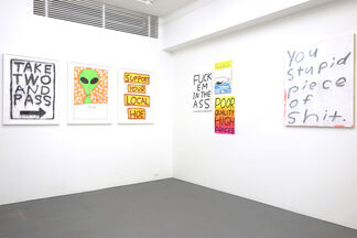 """""""OODLES of DOODLES"""" by MADSAKI, installation view"""