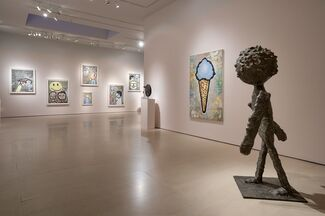 Donald Baechler: The Planet of Memory, installation view