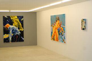 Norbert Bisky | A Fuga, installation view