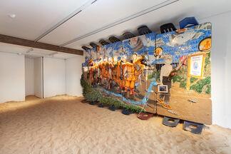 Donkey Days, installation view