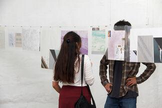Drawings to mishap / Rodrigo Canala and Oscar Pérez, installation view