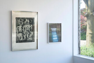 Jenny Holzer & Louise Nevelson, installation view
