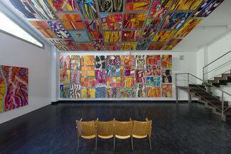 Pittura in scena, installation view