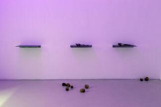 Luca Francesconi - pane pane pane vino canale di scolo, installation view