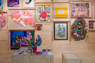 The Hole at Art Los Angeles Contemporary 2018, installation view