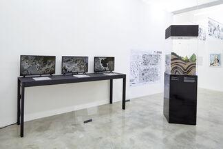Crow's Eye View: The Korean Peninsula, installation view