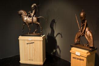 OSTASHOV sculpture at ViennaFair 2015, installation view