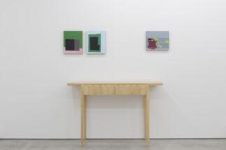 Guy Yanai featuring furniture by Rafe Mullarkey, installation view